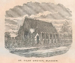 St Silas church in the 2890s